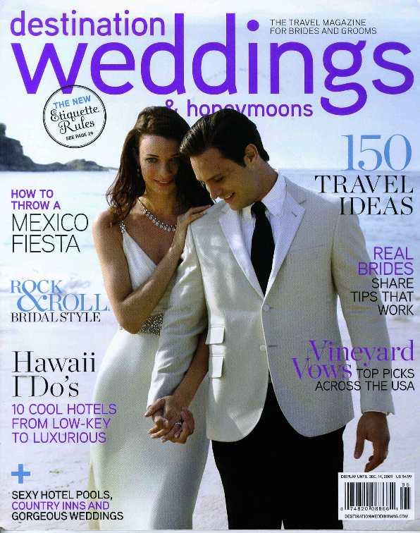 Destination Wedding & Honeymoons Cover Nov. 2009