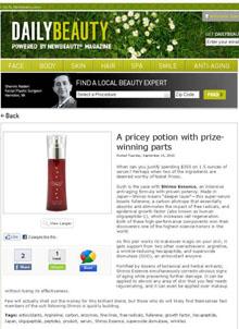 Newbeauty Magazine Article 9-21-2010