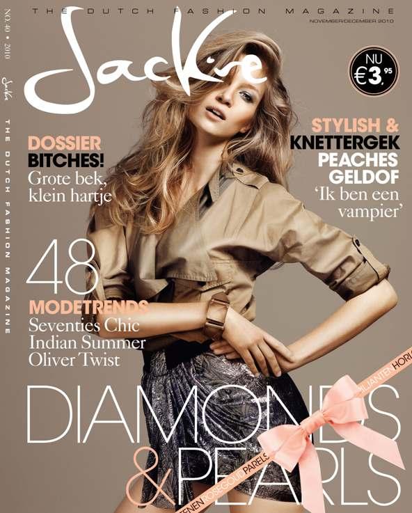 Jakie Magazine Nov. 2010 (The Dutch Fashion Magazine) cover