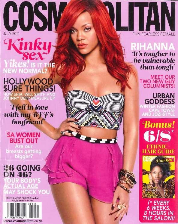 Csomopolitan July 2011 Cover