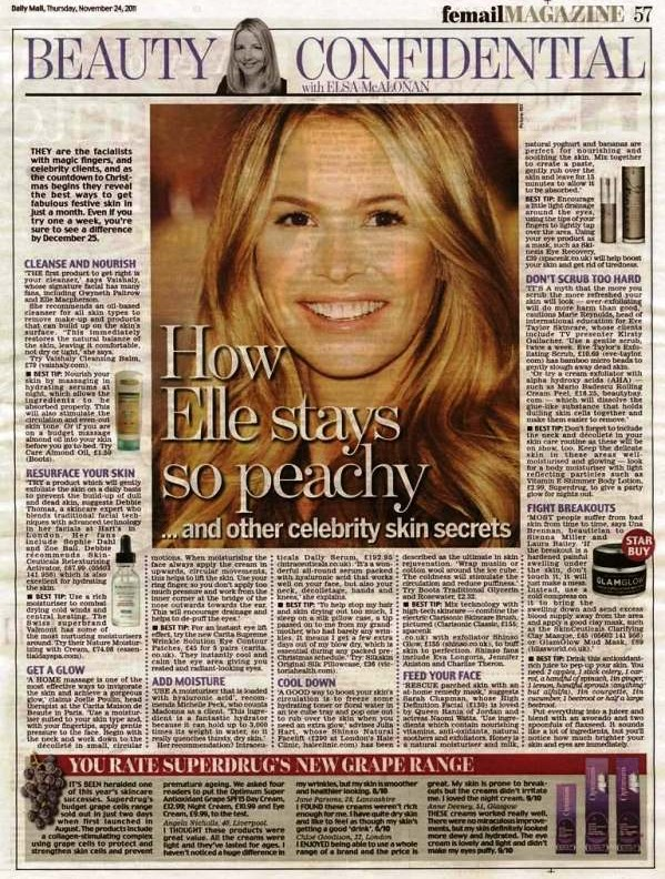 Daily Mail Cover on 11-24-11