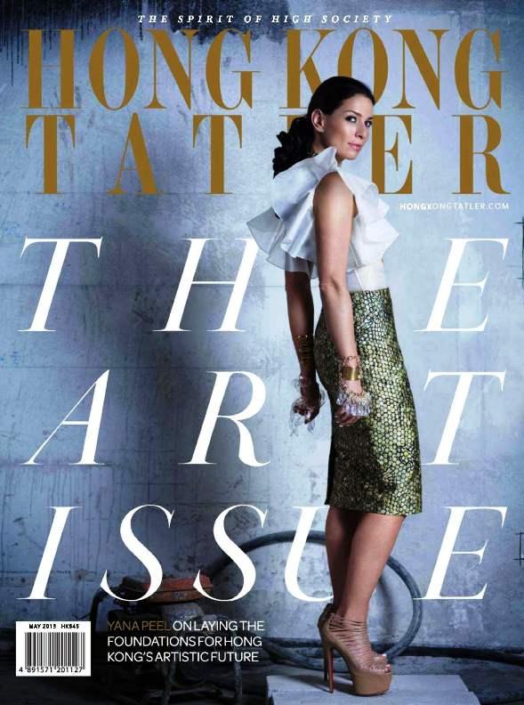 Hong Kong Tatler Magazine May 2013 cover