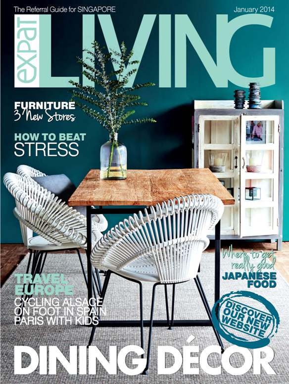 EpatLiving Magazine Singapore Jan. 2014 Cover